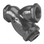 Style B 250# 4″ Threaded Cast Iron Y Strainers