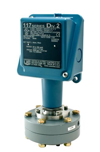 Ue H117 524 2 5 Quot 50 Quot Wc Pressure Switch Class 1 Div 2